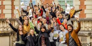 Candidats Corpo 35 Edition Firmenich avec Dora Baghriche, parfumeur, Présidente du jury